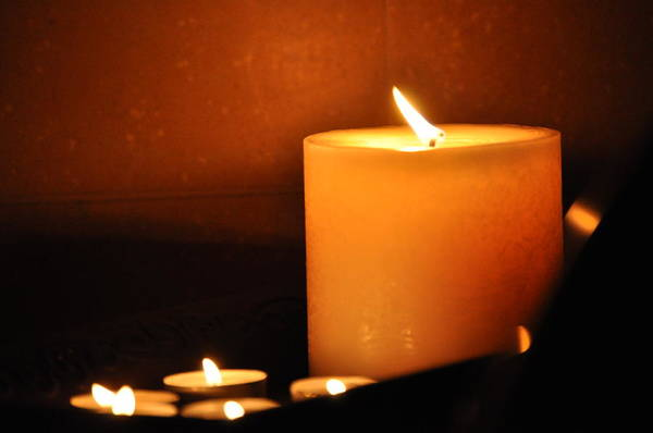 Photograph - Candlelight by Bridgette Gomes
