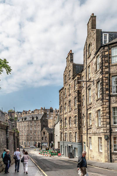 Wall Art - Photograph - Candlemaker Row by W Chris Fooshee