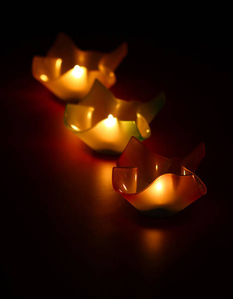 Candles Wall Art - Photograph - Candleworks by Evelina Kremsdorf