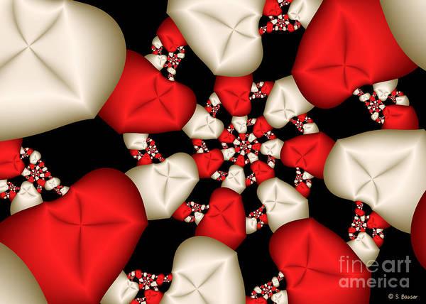 Digital Art - Candy Cane by Sandra Bauser Digital Art