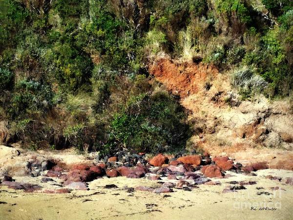 Painting - Candy Cliff by RC DeWinter