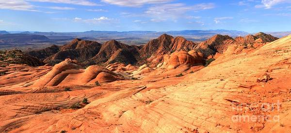 Photograph - Candy Cliffs And Red Cliffs Panorama by Adam Jewell