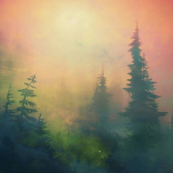 Surrealism Photograph - Candy Clouds On Goat Mountain by Squashyhead