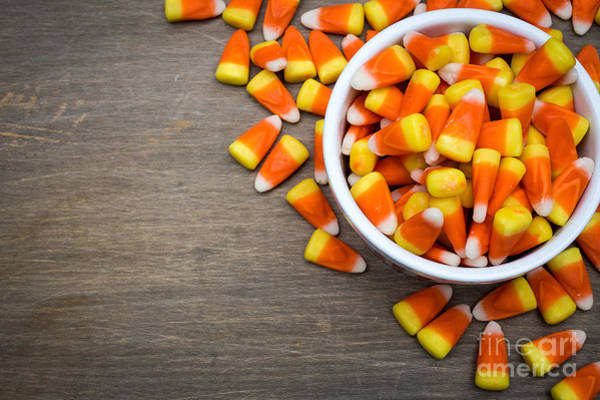 Photograph - Candy Corn by Edward Fielding