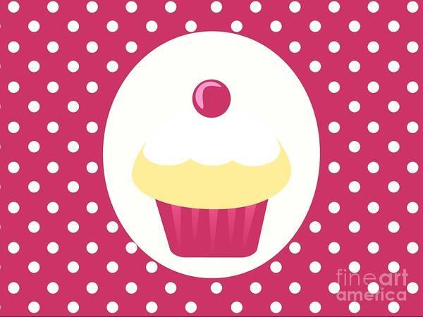 Icing Digital Art - Candy Cupcake  by Kourai