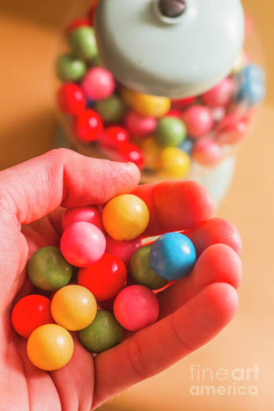 Chewing Wall Art - Photograph - Candy Hand At Lolly Store by Jorgo Photography - Wall Art Gallery