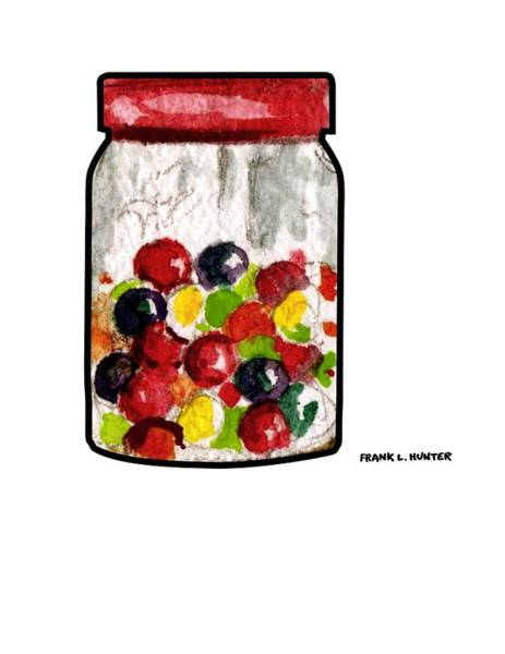 Painting - Candy Jar by Frank Hunter