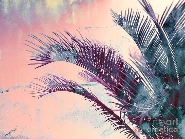 Candy Palms Art Print