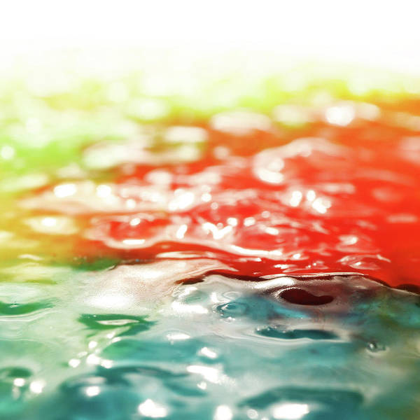 Photograph - Candy Puddle by Stephen Dorsett