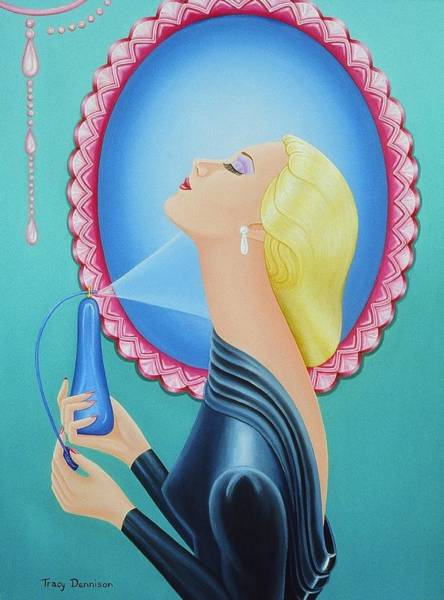Painting - Candy by Tracy Dennison