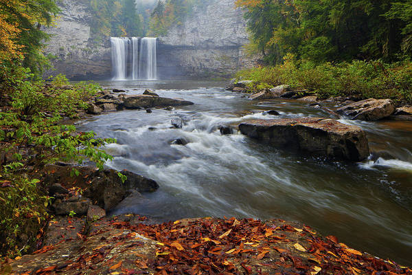Photograph - Cane Creek Falls by Dennis Sprinkle