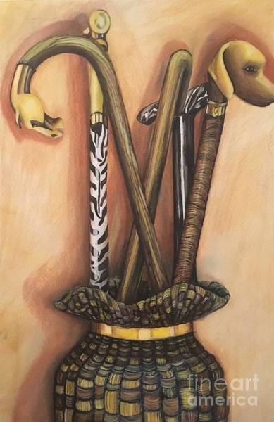 Painting - Canes by Mastiff Studios