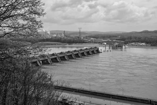 Photograph - Cannelton Locks And Dam by Sandy Keeton