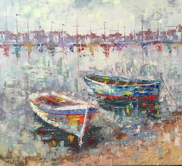 Painting - Cannes La Riviera by Frederic Payet