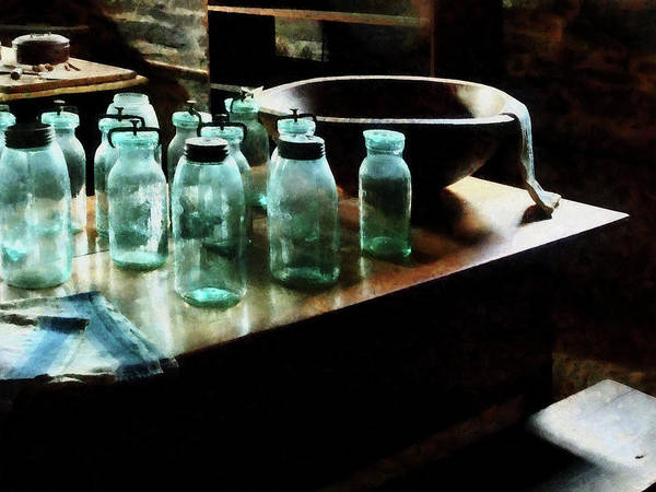 Photograph - Canning Jars by Susan Savad