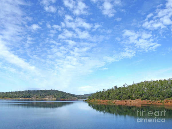 Photograph - Canning Reservoir And Sky by Phil Banks