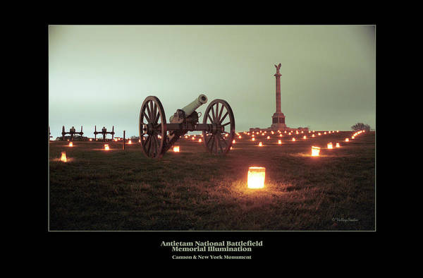 Luminaries Photograph - Cannon And Ny Monument 07 by Judi Quelland