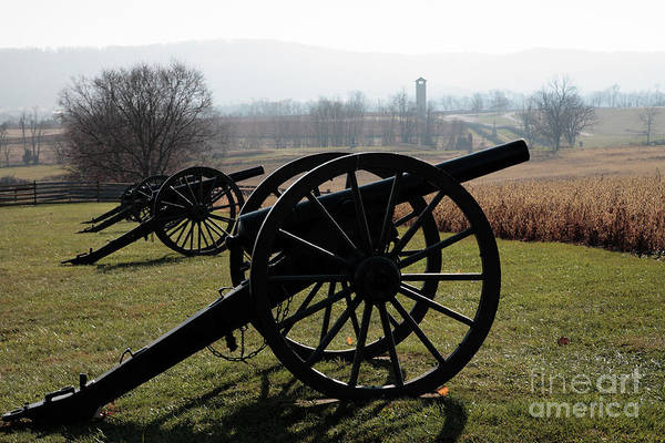 Photograph - Cannon At Antietam by William Kuta