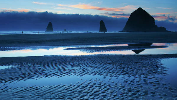 Wall Art - Photograph - Cannon Beach Blues by Patrick Campbell