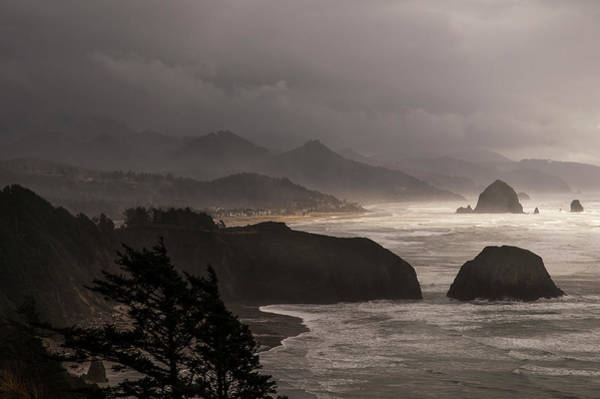 Photograph - Cannon Beach Drama by Robert Potts