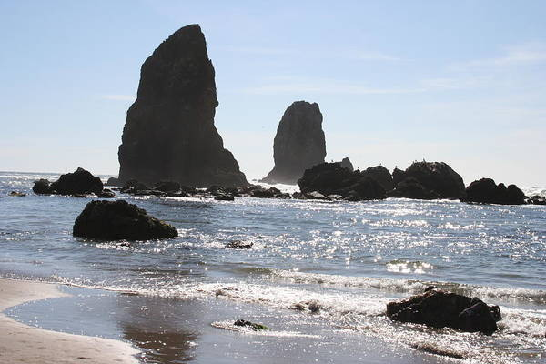 Photograph - Cannon Beach II by Quin Sweetman
