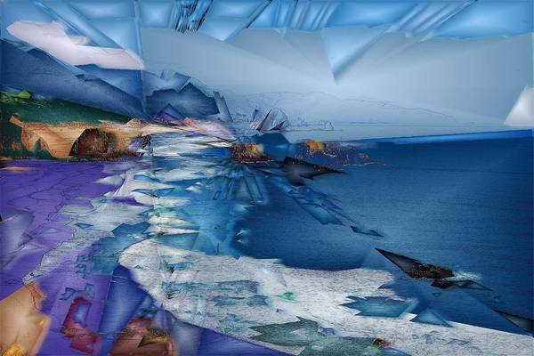Wall Art - Digital Art - Cannon Beach  by Jon Glaser