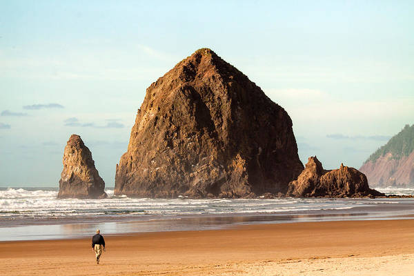 Photograph - Cannon Beach Stroll by Todd Klassy