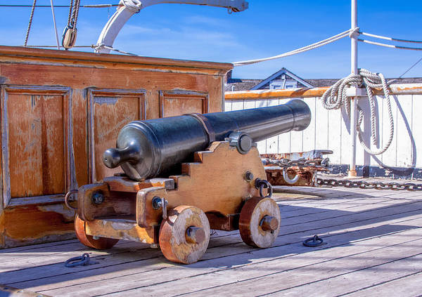 Photograph - Cannon by Brian MacLean