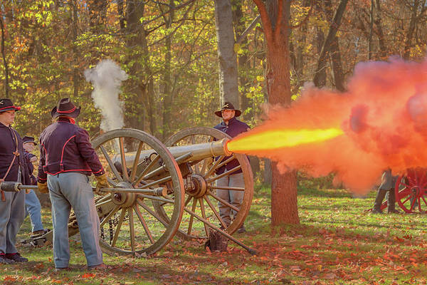 Photograph - Cannon Fire by Susan Rissi Tregoning