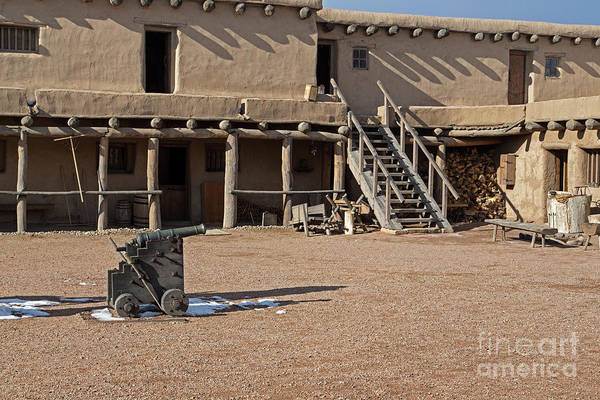Photograph - Cannon In Courtyard At Bents Old Fort by Fred Stearns