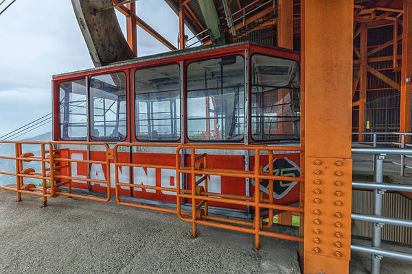 Photograph - Cannon Mountain Aerial Tram by Brian MacLean
