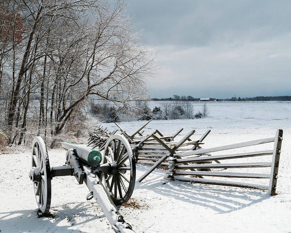 Wall Art - Photograph - Cannon Under Snow by Kat Zalewski-Bednarek