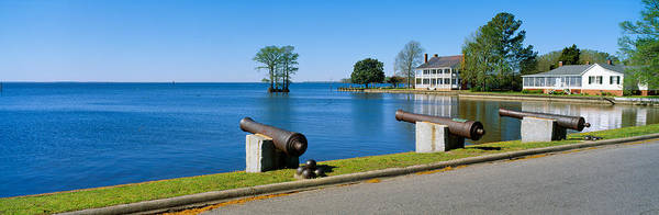 Armament Photograph - Cannons And Barker House From 1762 by Panoramic Images