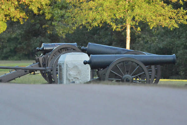 Photograph - Cannons At Shiloh by WildBird Photographs