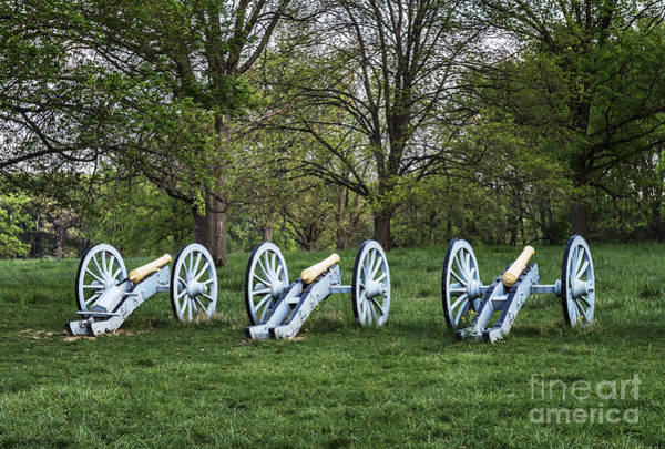 Wall Art - Photograph - Cannons At Valley Forge by John Greim
