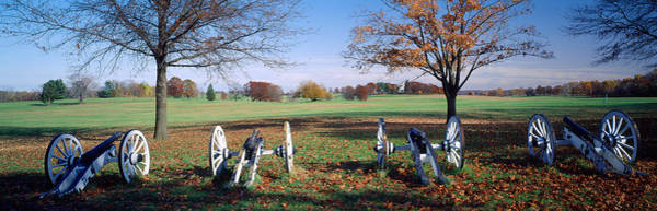 Armament Photograph - Cannons Valley Forge National by Panoramic Images