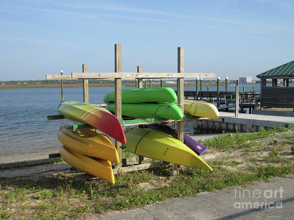 Photograph - Canoe Resting Place by Roberta Byram