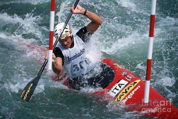 Worldcup Photograph - Canoe Slalom 1 by Rudi Prott