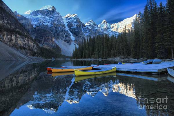 Photograph - Canoes In Paradise by Adam Jewell