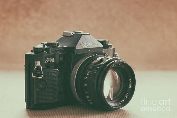 Photograph - Canon A1 by Ana V Ramirez