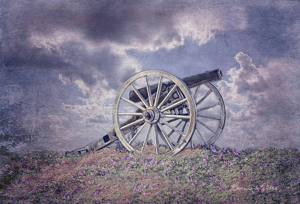 Digital Art - Cannon Of Peace by Bonnie Willis