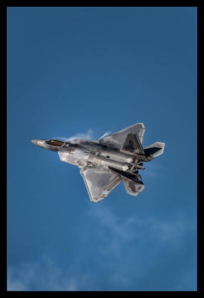 Military Air Base Photograph - Cant Touch This by Robert Fawcett