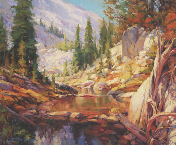 Outdoor Wall Art - Painting - Cantata by Steve Henderson