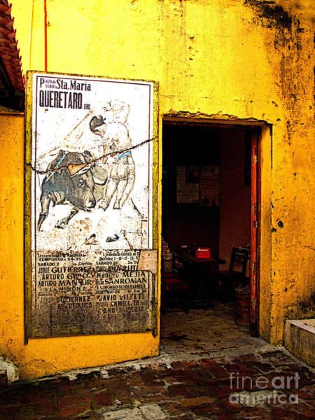 Matador Photograph - Canteena Passage by Mexicolors Art Photography