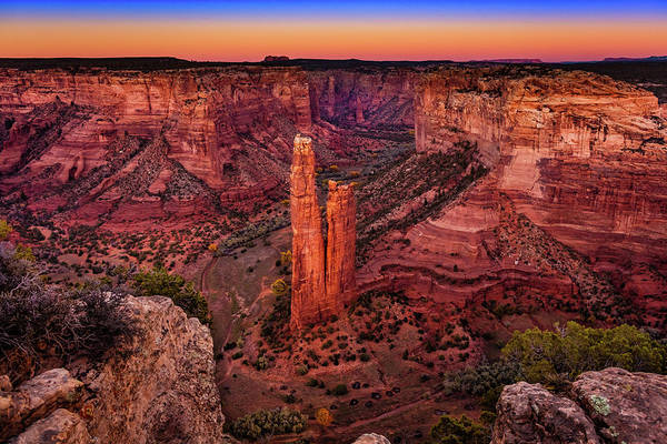 Spider Rock Photograph - Canyon De Chelly 29 by Mike Penney