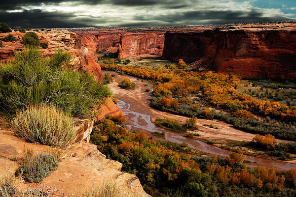Photograph - Canyon De Chelly by Harry Spitz