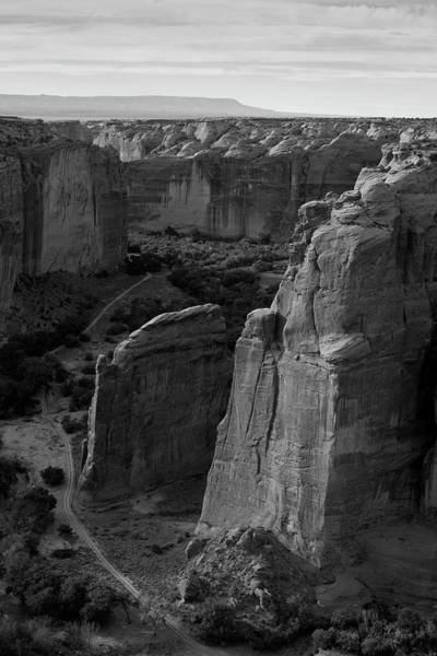 Photograph - Canyon De Chelly I Bw by David Gordon