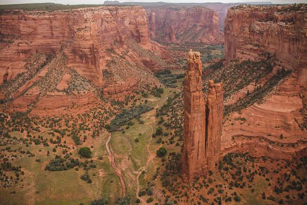 Spider Rock Photograph - Canyon De Chelly by Pete Mecozzi