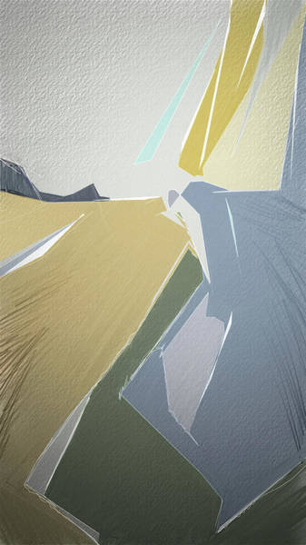 Digital Art - Canyon by Gina Harrison