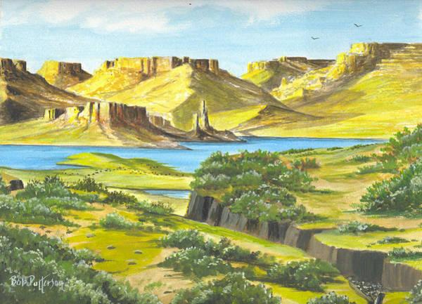 Horsemanship Painting - Canyon Lake by Bob Patterson